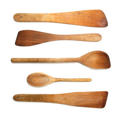 Old Wooden Spoons and Stirrers