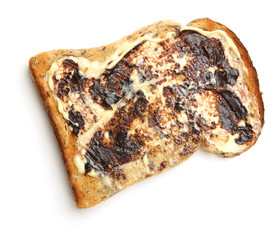 Buttered Toast with Yeast Extract Spread