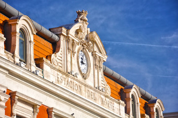 Madrid, antigua estación del Norte, estación de Príncipe Pío