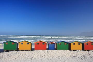 muizemberg spiaggia città del capo sudafrica strutture