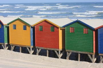 muizenberg spiaggia città del capo sudafrica