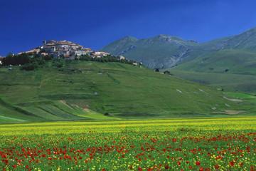 castelluccio di norcia parco nazionale monti sibillini