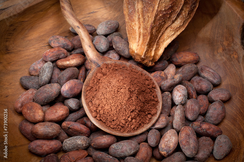 Fotobehang Granen cocoa