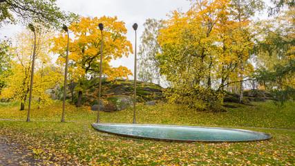 Park in Helsinki Finland
