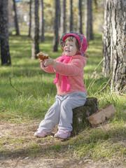 little girl stump