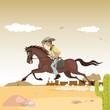 Obrazy na płótnie, fototapety, zdjęcia, fotoobrazy drukowane : cowboy and western