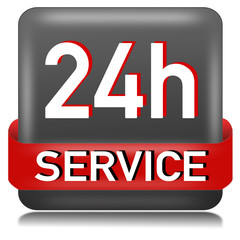 24h Service Button  #141128-svg09