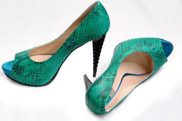Stylish women's fashion platform shoes and high heels