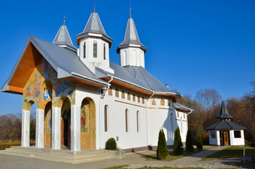 Orthodox Christian monastery in Romania