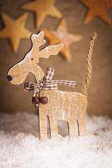 Weihnachtlicher Elch