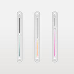 Set of  volume bar