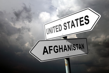 United States and Afghanistan directions.
