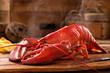 Leinwanddruck Bild - Steamed Lobster