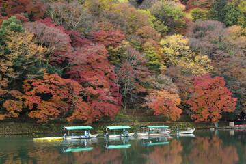 秋の京都嵐山