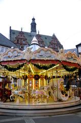 Weihnachtsmarkt Frankfurt Karussell