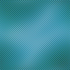 Abstract blue glass mosaic