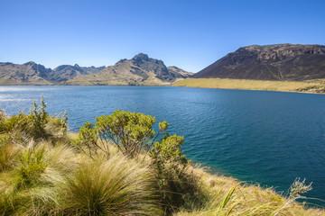 Caricocha in Mojanda lakes, Ecuador