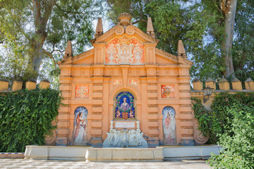 Seville - Maria Luisa park