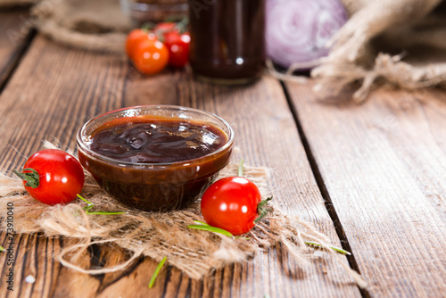 Bowl with Barbeque Sauce - 73910040