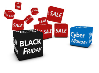 Cyber Monday And Black Friday Sales
