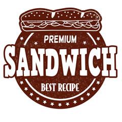 Sandwich stamp