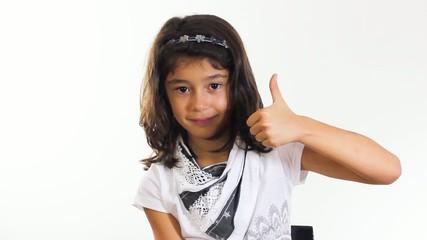 Little girl doing ok