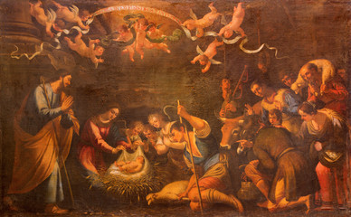 Seville - Adoration of shepherds - church of  Annunciation