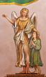 Seville - The baroque fresco of guardian angel