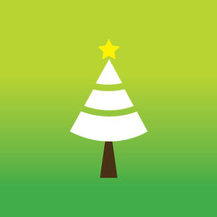 merry christmas tree symbol