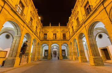 Seville - The atrium of University fromer Tobacco Factory