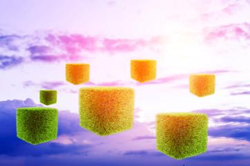 futuristic background sky