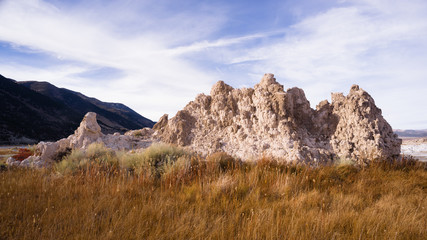 Tufa Formation Mono lake Shores Nature Landscape