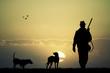 hunter at sunset - 73915670