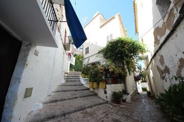 ヨーロッパ スペイン イビザ島の町並み2