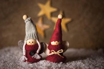Weihnachtliche Püppchen