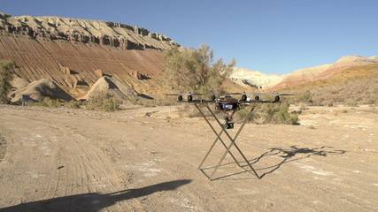 Flying Up Hexacopter