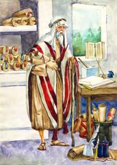 Ancient Israel. Scribe