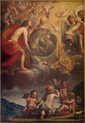 Bruges -  The Holy Trinity at the creation - Sint Gilliskerk