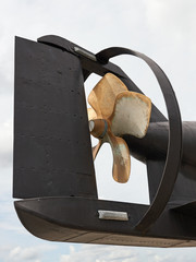 Submarine propeller