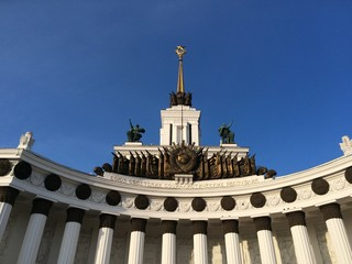 ВДНХ - памятник советской эпохи