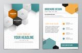 Fototapety Brochure Design Template