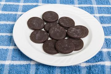 Frozen Thin Mint Cookies