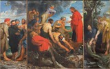 Mechelen -  The Miracle fishing triptych  by Peter P. Rubens