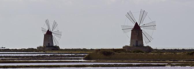 Salt Mills Trapani