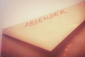 Absender...