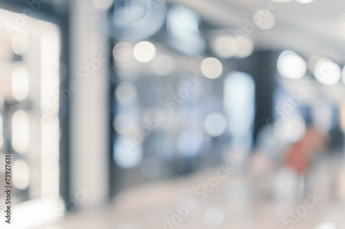 Abstract background of shopping mall - 73927631