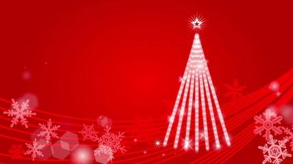 Christmas tree Illumination - Red