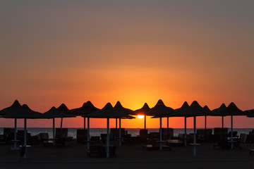 Sunrise in Sharm el-Sheikh