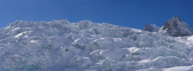 Monte  Bianco's Glacier Landscape