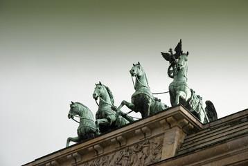 Quadriga Statue, Brandenburg Gate, Berlin